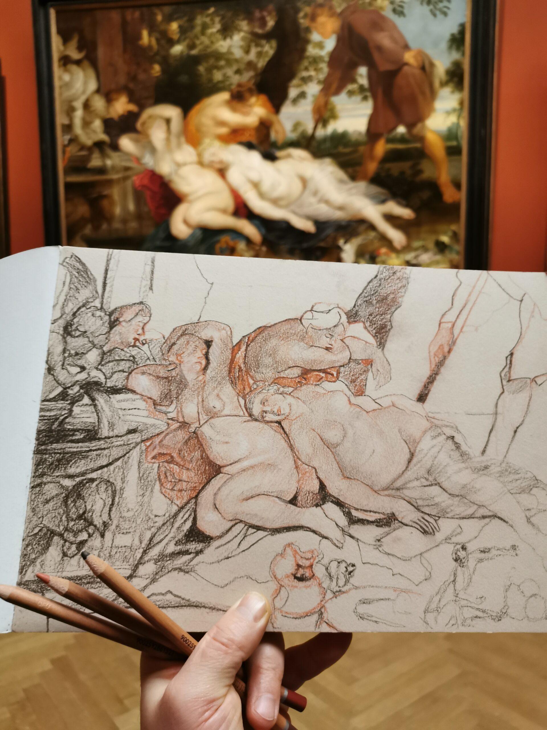 """Cimon und Efigenia"" - Peter Paul Rubens"