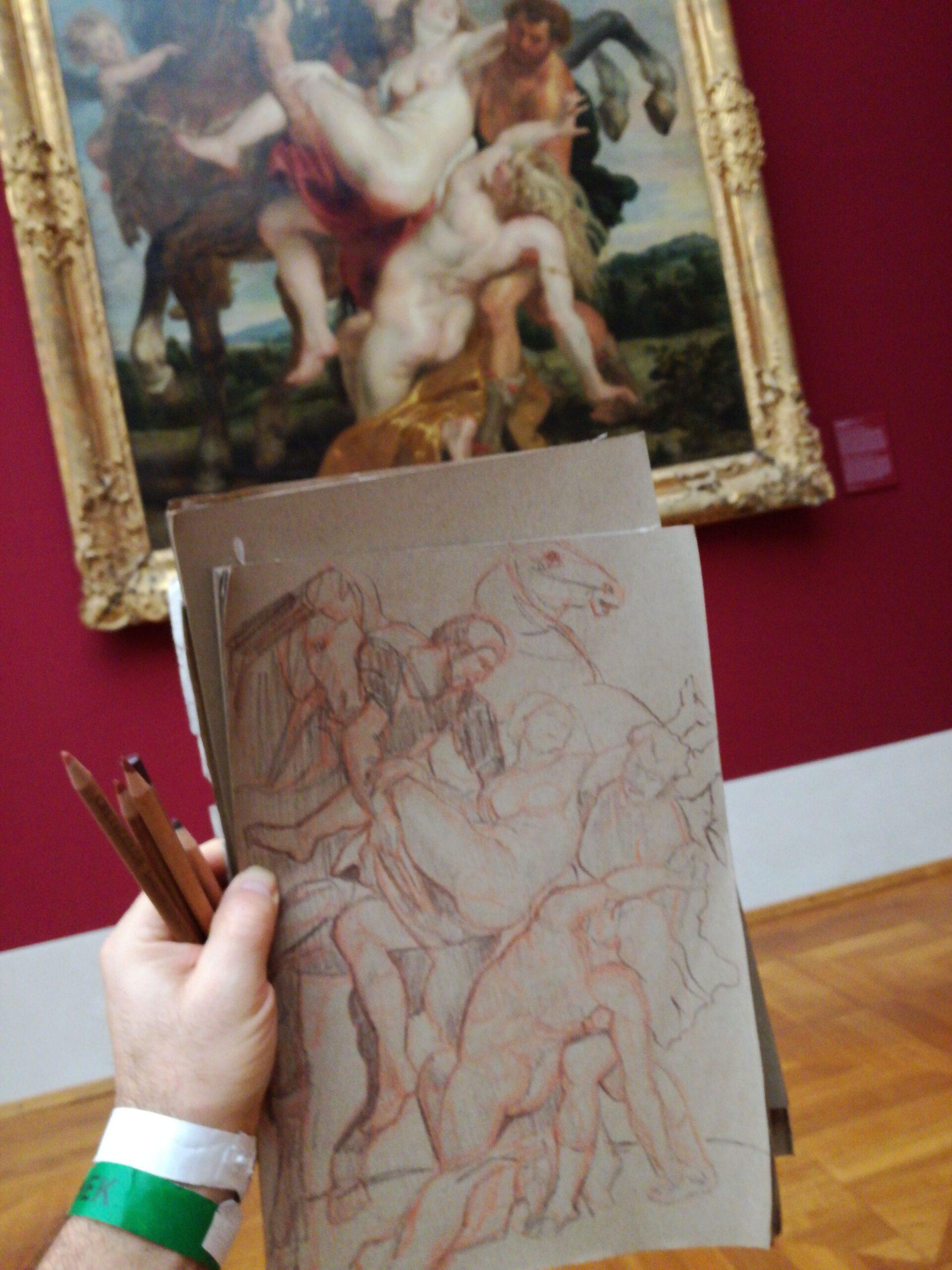 """""""Der Raub der Töchter des Leulippos"""" - Peter Paul Rubens"""