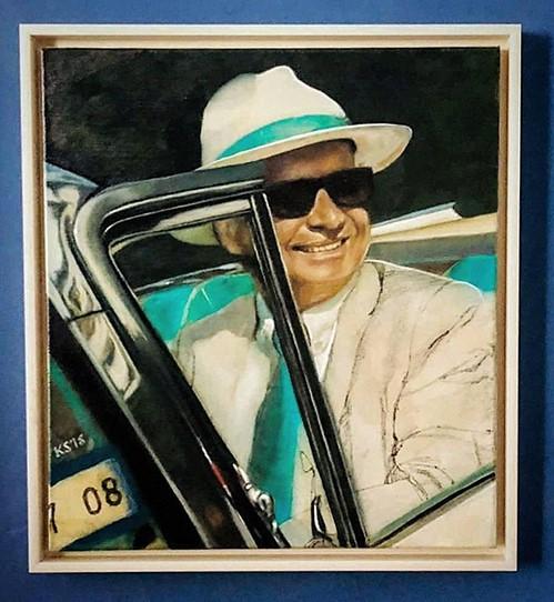 Der Mann im blauen Ford