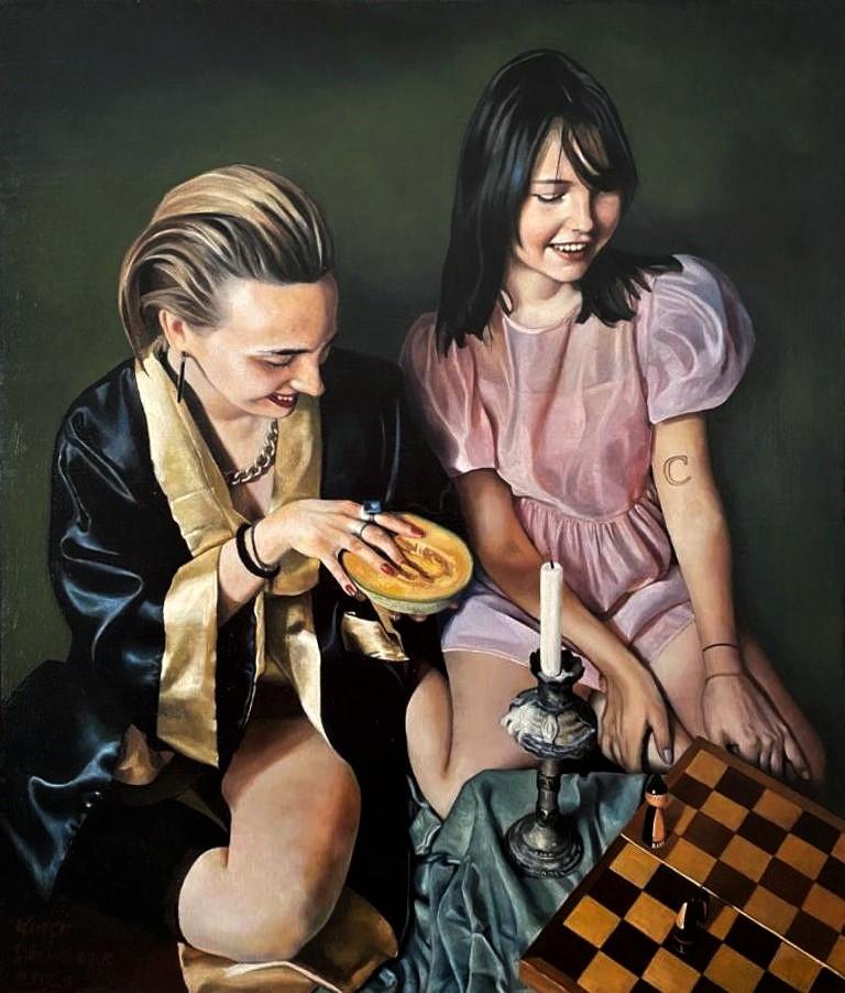 """""""Die Schachspielerinnen"""""""
